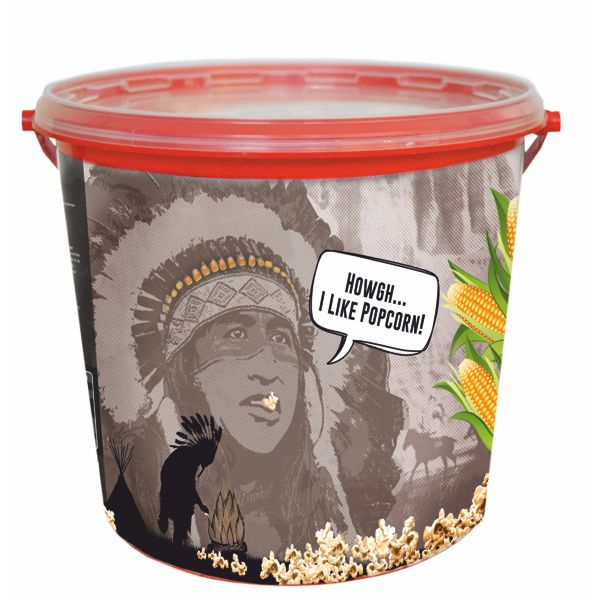 Popcorn im Eimer Popcorneimer - Süß -  Fun