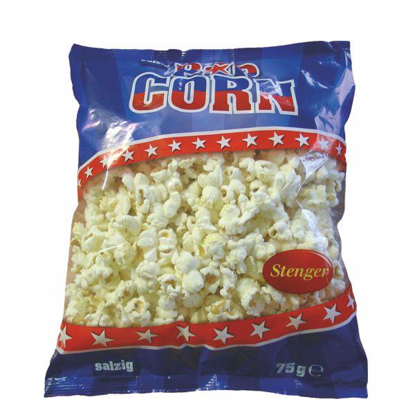 Popcorn in der Tüte - Salzig