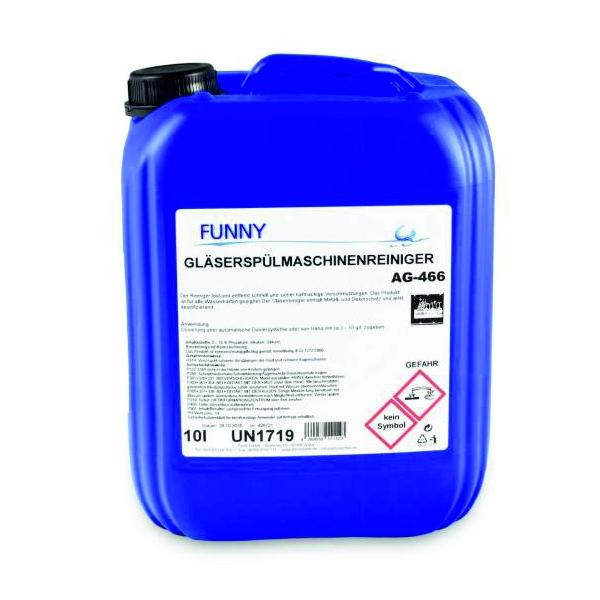 (2,80 €/Liter) Reiniger für gewerbliche Gläserspülmaschinen - 10 Liter