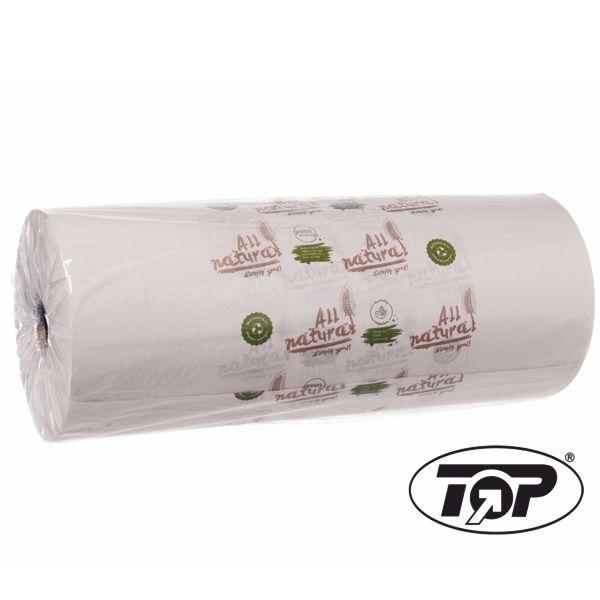 (3,29 €/Kg) Bio Rollenpapier - Bäckerseide - Einschlagpapier All Natural 50cm - 10 Kg