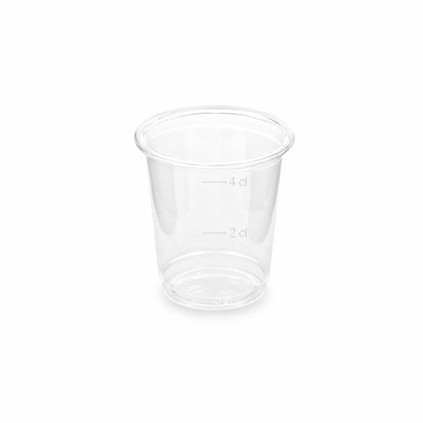 Schnapsgläser - Schnapsglas - PET - 2/4cl - 40 Stück