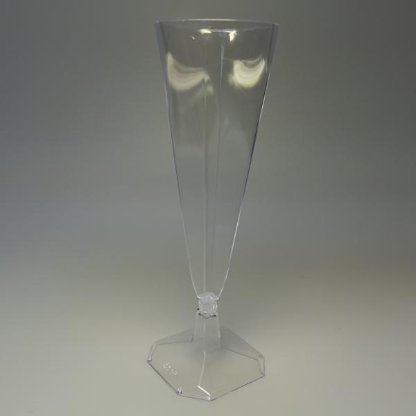 """Sektgläser """"Diamond"""" - Fuß klar - 48 Stück"""