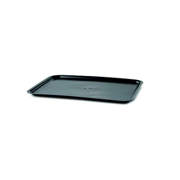 Serviertablett - Gastro Tablett 48x36cm - Schwarz