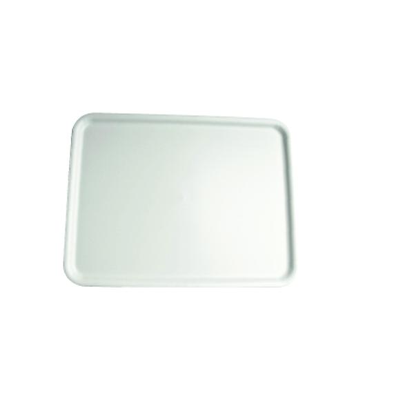 Serviertablett - Gastro Tablett 48x36cm - Weiß