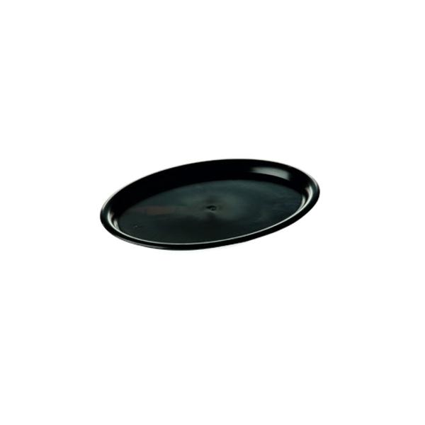 Serviertablett - Gastro Tablett 23x17cm - Schwarz