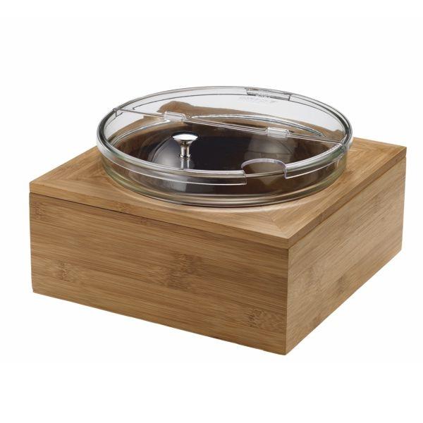 Set Joghurt Schale + Deckel + Akku + Ständer - 2 Liter