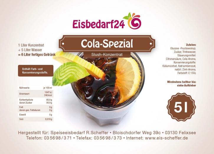 Slush Eis Sirup Cola - 5 Liter Konzentrat