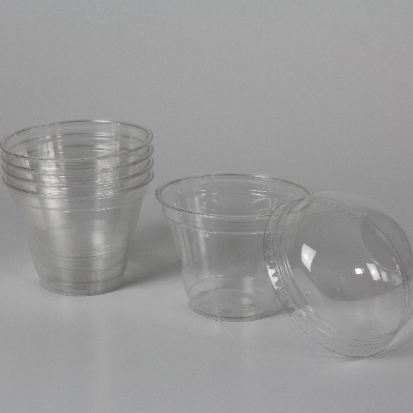 Clear Cup PET - Smoothie Cup - 95mm - 200/250ml - 800 Stück