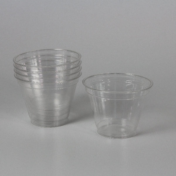 Clear Cup PET - Smoothie Cup - 95mm - 200/250ml - 50 Stück