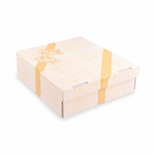 Tortenkarton Vollfarbdruck Motiv 28x28x10cm - 100 Stück