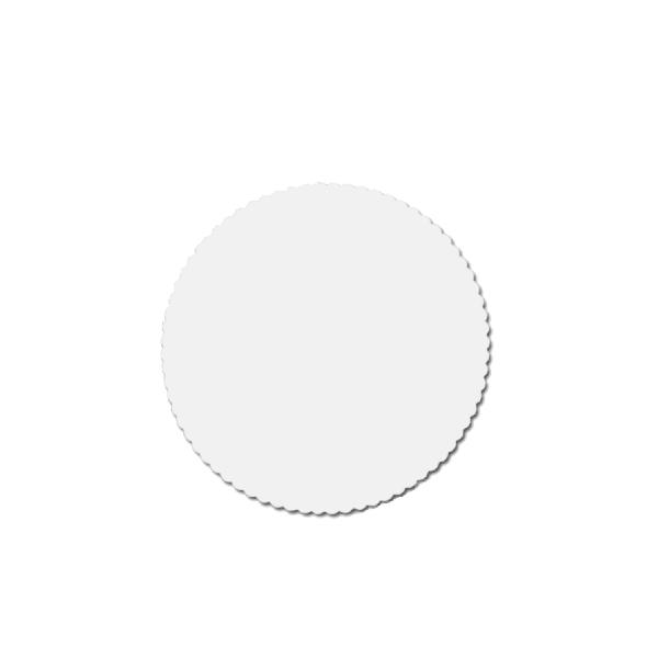 Tortenscheiben - Tortenunterlagen Pappe weiß 18cm - 100 Stück