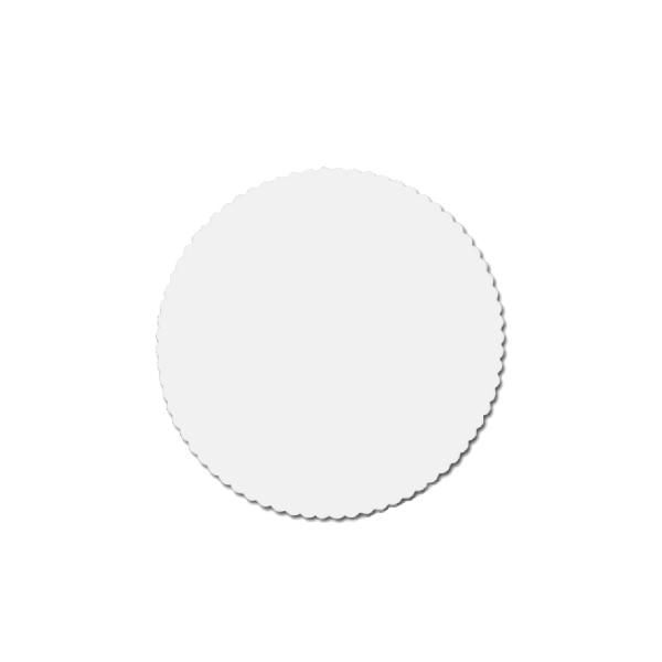 Tortenscheiben - Tortenunterlagen Pappe weiß 20cm - 100 Stück