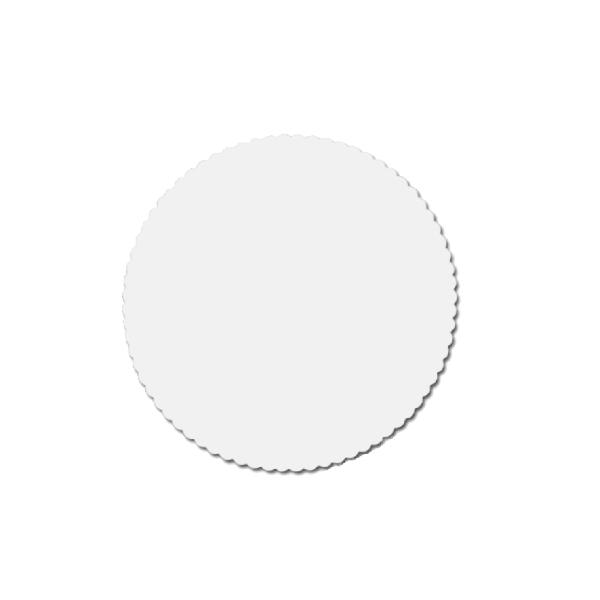 Tortenscheiben - Tortenunterlagen Pappe weiß 22cm - 100 Stück