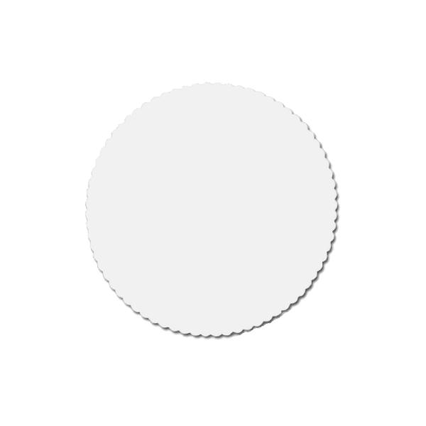 Tortenscheiben - Tortenunterlagen Pappe weiß 24cm - 100 Stück