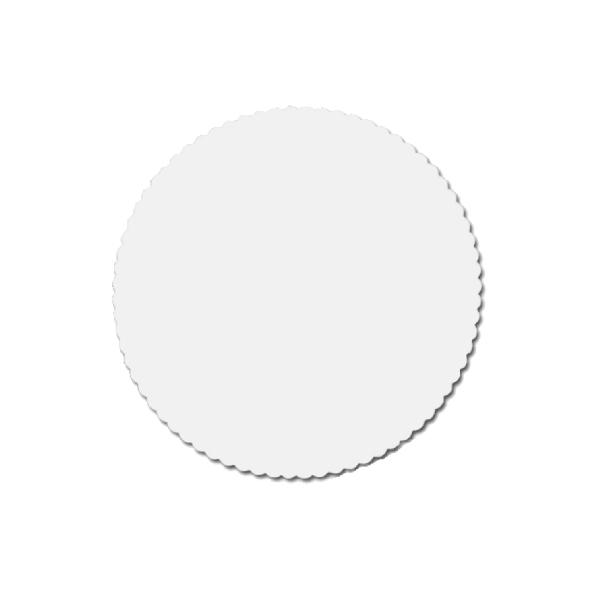 Tortenscheiben - Tortenunterlagen Pappe weiß 26cm - 100 Stück