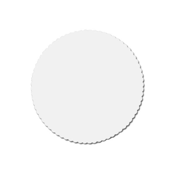 Tortenscheiben - Tortenunterlagen Pappe weiß 28cm - 100 Stück