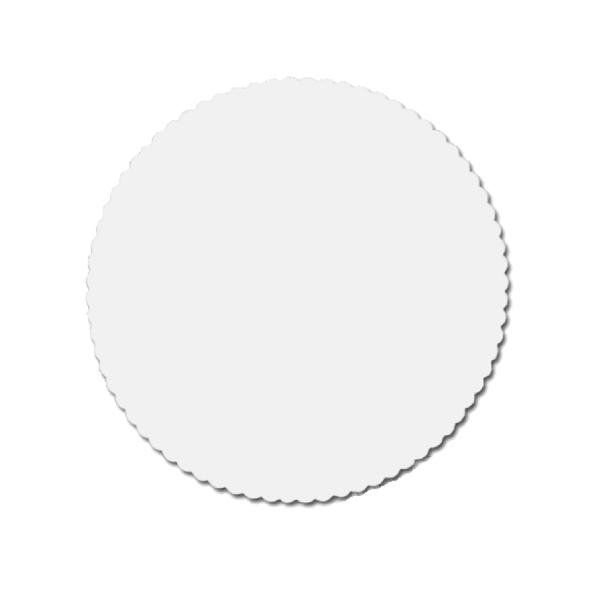 Tortenscheiben - Tortenunterlagen Pappe weiß 30cm - 100 Stück