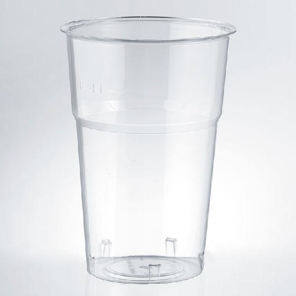 Trinkbecher PS 400ml Kristall - K575 - 40 Stück