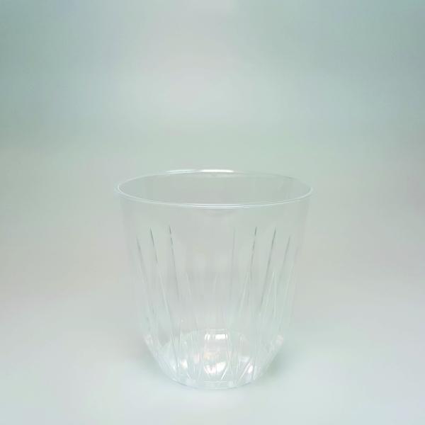 "Trinkglas ""Iceberg"" PS - 200ml - tranparent - 25 Stück"