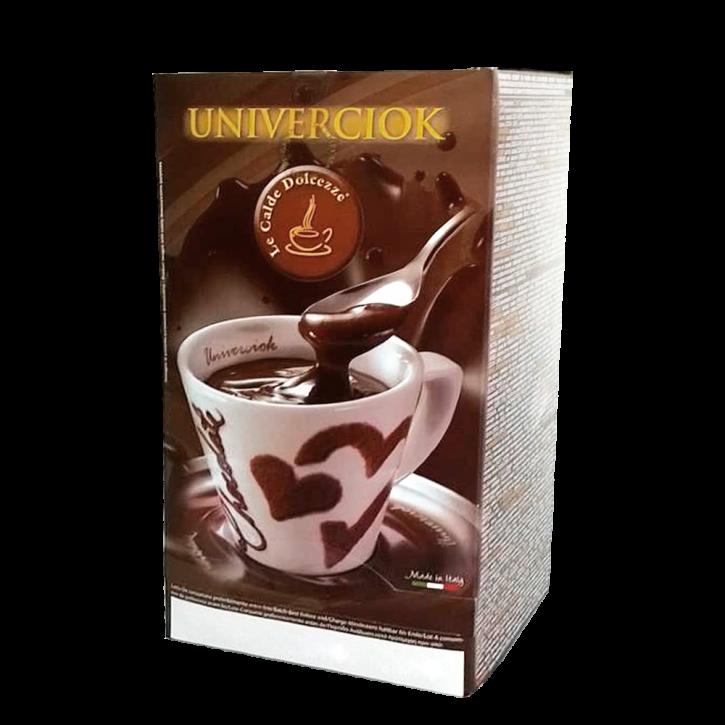 Heiße Schokolade Univerciok - Latte - Milchschokolade