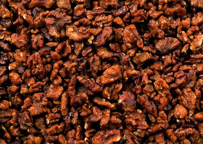 Walnuss - Stücke kandiert - karamellisiert - 0,5 Kg