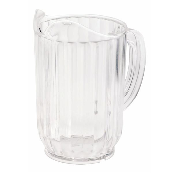 Wasser Karaffe - Bier Pitcher transparent - 0,95 Liter