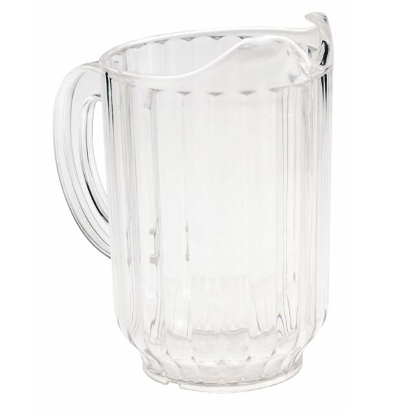 Wasser Karaffe - Bier Pitcher transparent - 1,7 Liter