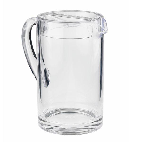 Wasser Karaffe - Spender Kiros + Deckel - 1,8 Liter