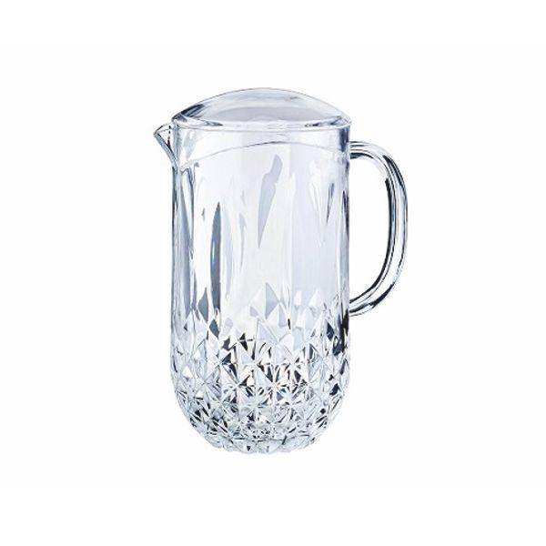 Wasser Karaffe Spender Kos + Deckel - 1,6 Liter