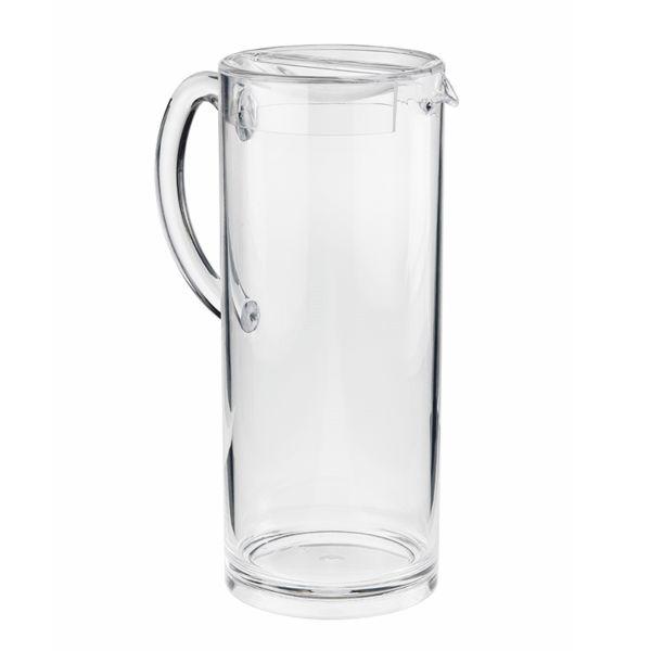 Wasser Karaffe - Spender Naxos + Deckel - 1,7 Liter