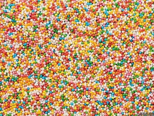Nonpareille - Zucker Kügelchen bunt - 1 Kg