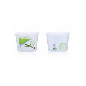 Bio E-Cup Pappeisbecher W550FB - 550ml - 200 Stück