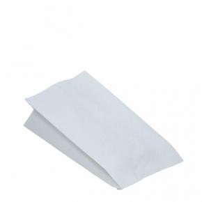 Hähnchenbeutel - Papierbeutel 1/1 - fettdicht - weiß - 13 x 8 x 28cm - 100 Stück