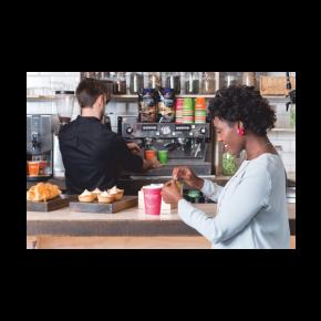 Kaffeebecher Doppelwandig Enjoy - 400ml - 25 Stück