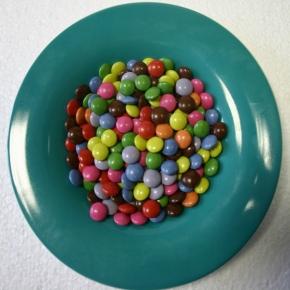 Mini - Schokoladenlinsen Schokolinsen AZO - frei - 1 Kg