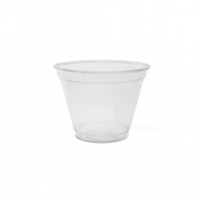 Clear Cup PET - Smoothie Cup - d=95mm - 250ml - 50 Stück