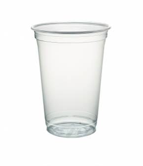 Clear Cup PET - Smoothie Cup - 95mm - 400/550ml - 50 Stück