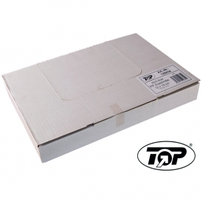 PP - Zuschnitte glasklar Top-Plast 1/16 Bogen - 18x24cm - 4000 Blatt
