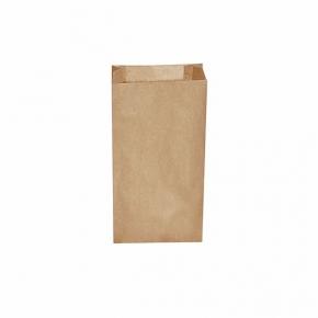 Papiertüten - Papier Faltenbeutel braun - 14+7 x 29cm - 1,5 Kg - 500 Stück