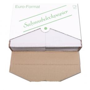 Sahneabdeckpapier 1/16 Bogen 18 x 24cm - 1000 Stück
