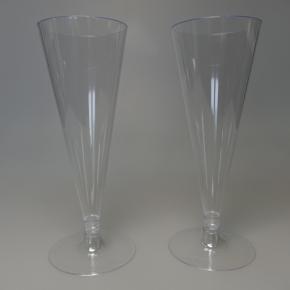 Sektgläser 100ml mit transparenten Fuß - 48 Stück