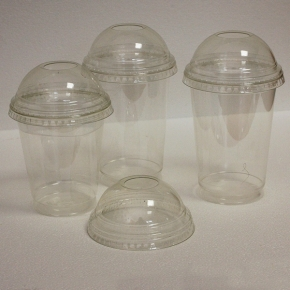 Clear Cup PET - Smoothie Cup - d=95mm - 300ml - 800 Stück