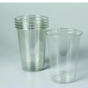 set clear cups pet smoothie becher 400ml und dome deckel. Black Bedroom Furniture Sets. Home Design Ideas