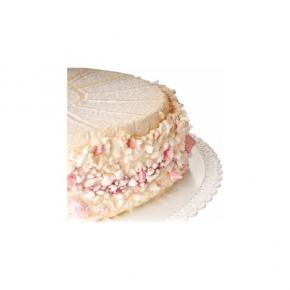 Tortenplatte - Tortentablett - Kuchenplatte Trinato - weiß - 28cm