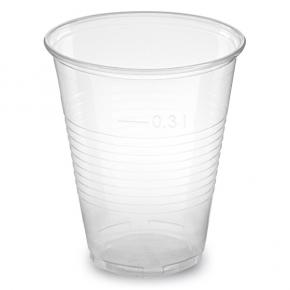 Trinkbecher PP 300ml klar Ø=78mm - 2500 Stück