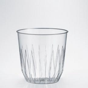 "25 Trinkglas ""Iceberg"" PS 200ml - tranparent"
